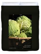 Cabbage Heads Duvet Cover