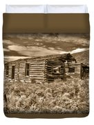 Cabin Fever Duvet Cover by Shane Bechler