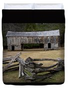 Cable Mill Barn In Cade's Cove No.122 Duvet Cover