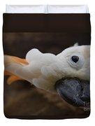 Cacatua Sulphurea Citrinocristata - Citron Crested Cockatoo Duvet Cover