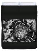 Cactus 10 Bw Duvet Cover