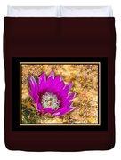 Cactus Flower 4 Duvet Cover
