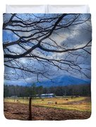 Cades Cove Lane Duvet Cover