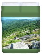 Cadillac Mountain Rocky View Duvet Cover