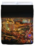 Caesars Palace On The Strip Duvet Cover