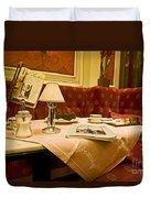 Cafe Sacher - Vienna Duvet Cover