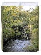Cahaba River Shadows Duvet Cover