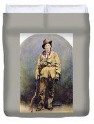Calamity Jane (c1852-1903) Duvet Cover
