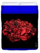 Calcite In Uv Light Duvet Cover