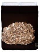 Calcite Under Visible Light Duvet Cover