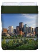 Calgary, Alberta, Canada Duvet Cover
