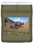 Calico Basin View Duvet Cover