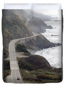 California Highway 1 Or Pacific Coast Duvet Cover