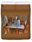 California Mission La Purisima Desk Duvet Cover