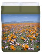 California Poppies And Other Duvet Cover
