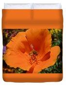 California Poppy Duvet Cover