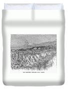 California: Vineyard, 1889 Duvet Cover