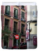 Calle De Vergara Madrid Duvet Cover