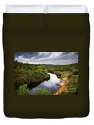 Calm River Duvet Cover by Carlos Caetano