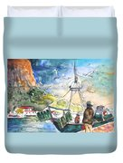 Calpe Harbour 07 Duvet Cover
