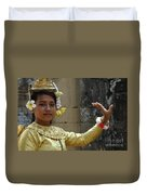 Cambodian Dancer Duvet Cover