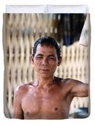 Cambodian Dignity Duvet Cover