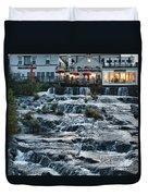 Camden Maine Waterfalls Duvet Cover