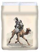 Camel & Rider Duvet Cover