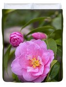 Camellia Camellia X Williamsii Donation Duvet Cover