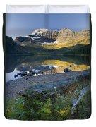 Cameron Lake, Alberta, Canada Duvet Cover