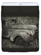 Camouflage Classic Car Duvet Cover