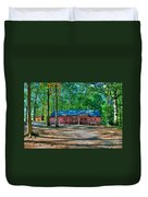Camp Milton Duvet Cover