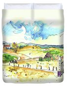 Campo Maior In Portugal 01 Duvet Cover