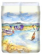 Campo Maior In Portugal 04 Duvet Cover