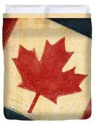 Canada Flag Duvet Cover