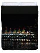 Canada Place Convention Center Duvet Cover