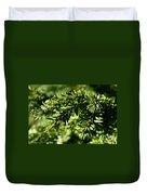 Canadian Hemlock Tips Duvet Cover