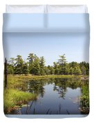Canadian Wetland Duvet Cover