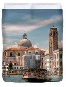 Canal Grande. Venezia Duvet Cover