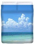 Cancun Beach Duvet Cover