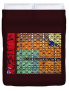 Candy Cage Duvet Cover