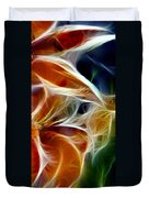 Candy Lily Fractal Panel 3 Duvet Cover