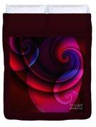 Candy Swirls Duvet Cover