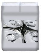Canned Food Duvet Cover