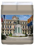 Cannes City Hall Duvet Cover