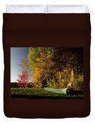 Canoe Duvet Cover by Cale Best