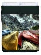 Canoes 2 Duvet Cover