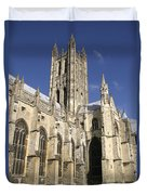 Canterbury Cathedral, Exterior Duvet Cover