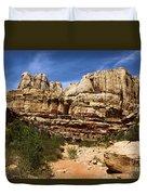Canyon Castle Duvet Cover