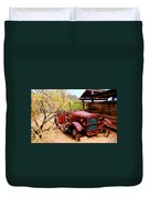 Canyon Creek Ranch Transportation Duvet Cover